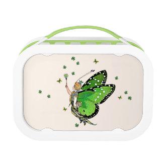 Irish Fairy Princess Vintage Faerie lunch box