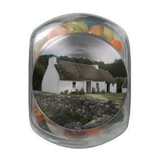 Irish Farm Glass Jar