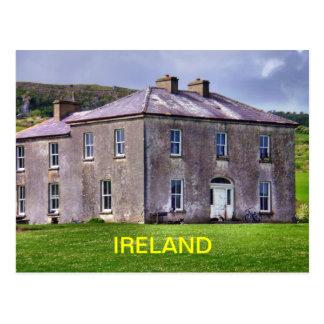 Irish Farmhouse Postcard