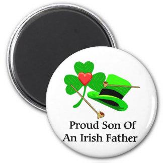 Irish Father 2 Inch Round Magnet