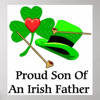 Irish Father Poster