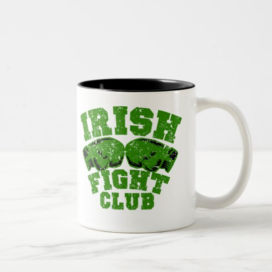 Irish FC $17.95 Two Toned Coffee Mug