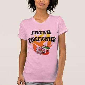 Irish Female Firefighter T-Shirt - Customized