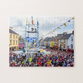 Irish Festival - Puck Fair Jigsaw Puzzle