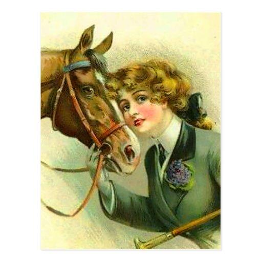 Irish Filly Post Card