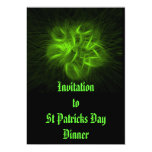 Irish Fire #1 5x7 Paper Invitation Card