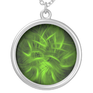 Irish Fire #1 Silver Plated Necklace