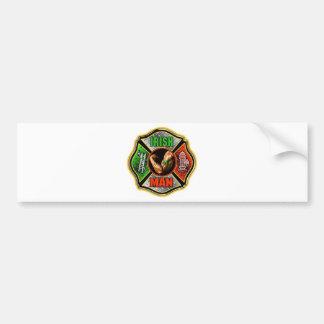 Irish Fire fighter Bumper Sticker