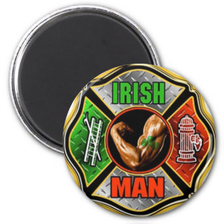 Irish Fire fighter Magnet