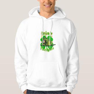 Irish firefighter hoodie