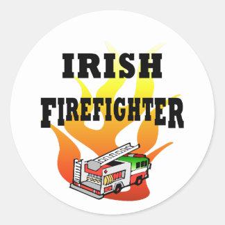 Irish Firefighter Stickers & Decals
