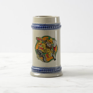 Irish Firefighter T-Shirts and Gifts Beer Stein