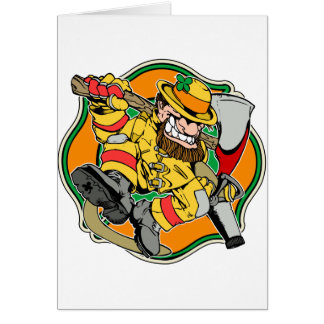 Irish Firefighter T-Shirts and Gifts Card