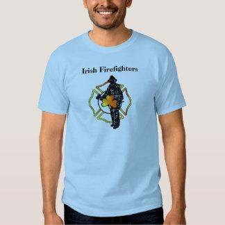 Irish Firefighter Theme Apparel T-Shirt