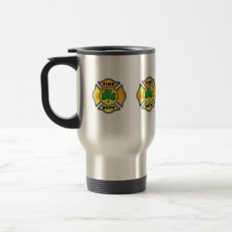 Irish Firefighter Travel Mug mug