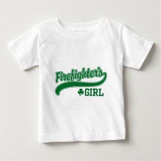 Irish Firefighter's Girl Baby T-Shirt