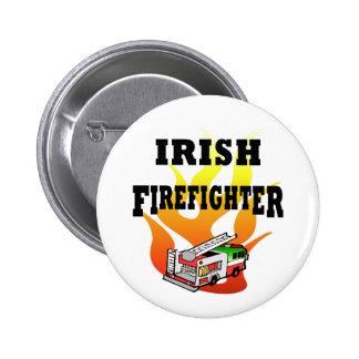 Irish Firemen Button