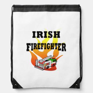 Irish Firemen Drawstring Backpack