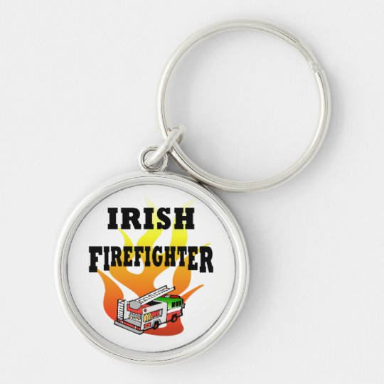 Irish Firemen Keychain