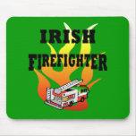 Irish Firemen Mouse Pads