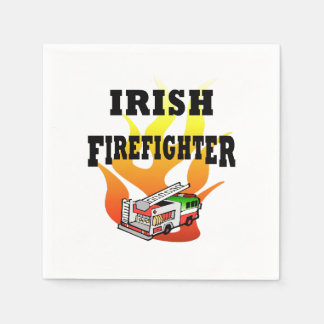 Irish Firemen Napkin