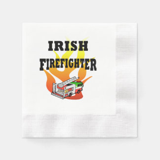 Irish Firemen Disposable Napkins