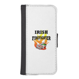 Irish Firemen iPhone 5 Wallet Case