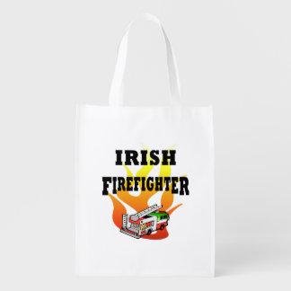 Irish Firemen Reusable Grocery Bag