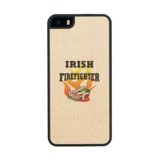 Irish Firemen Carved® Maple iPhone 5 Slim Case