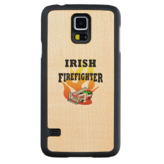 Irish Firemen Carved® Maple Galaxy S5 Slim Case