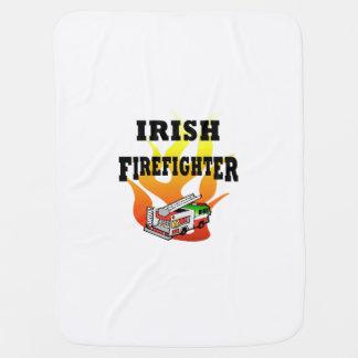 Irish Firemen Stroller Blankets