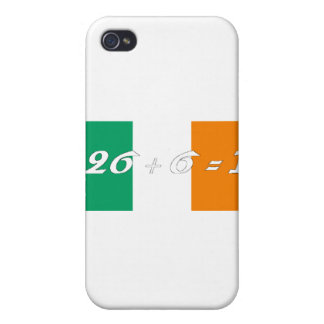 Irish Flag 26+6 2 Covers For iPhone 4