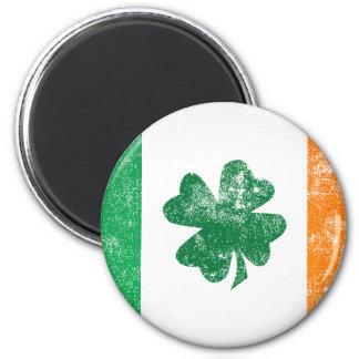 Irish Flag 2 Inch Round Magnet