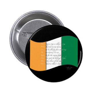 Irish flag/Anthem Button