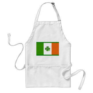 Irish flag apron