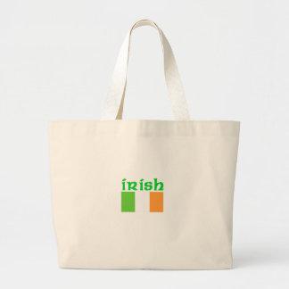 Irish Flag Tote Bags