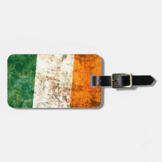 Irish Flag Bag Tag