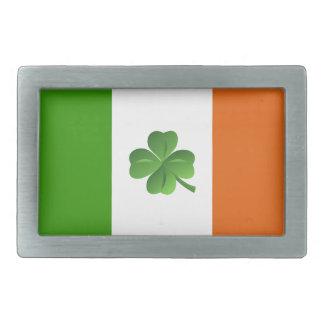 Irish flag belt buckle