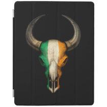 Irish Flag Bull Skull iPad Smart Cover