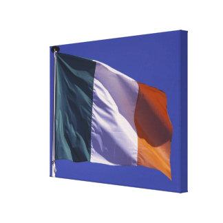 Irish flag canvas print