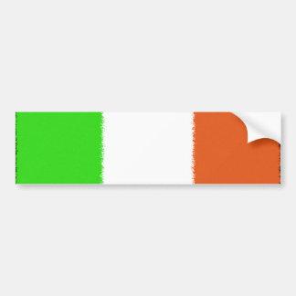 Irish Flag Car Bumper Sticker