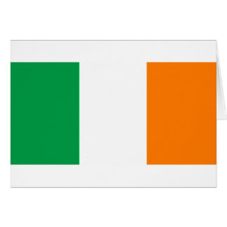IRISH FLAG CARD