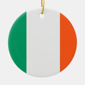 Irish Flag Ceramic Ornament