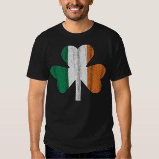 Irish Flag Clover T Shirts