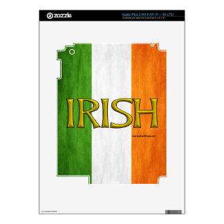 Irish Flag Collage iPad 3 Skin
