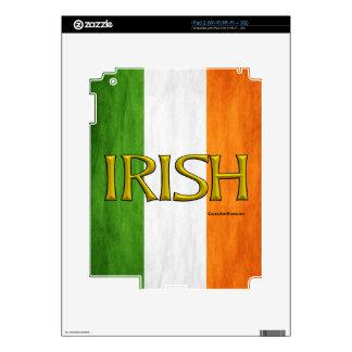 Irish Flag Collage Skin For iPad 2
