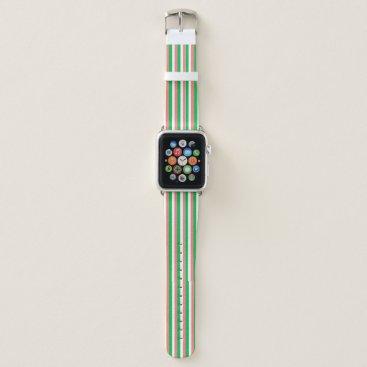 Beach Themed irish Flag Colors Apple Watch Band