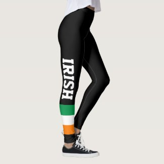 Irish flag custom leggings for St Patricks Day