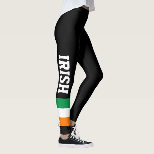 9aa0052679 Irish flag custom leggings for St Patricks Day | Zazzle.com
