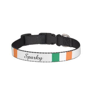 Irish Flag Customisable Dog Collar